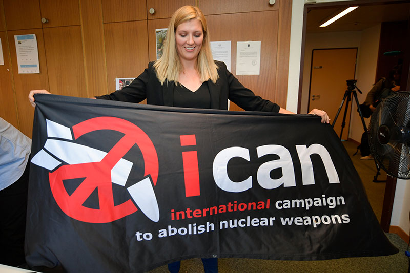 ICAN-Direktorin Beatrice Fihn