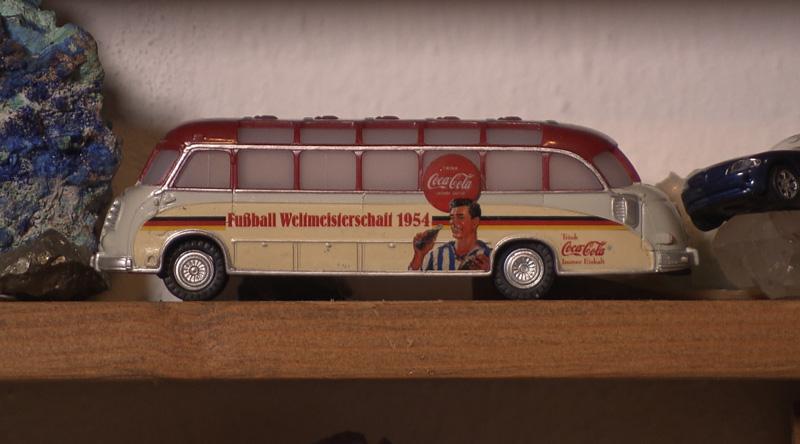 Historischer Modell-Bus