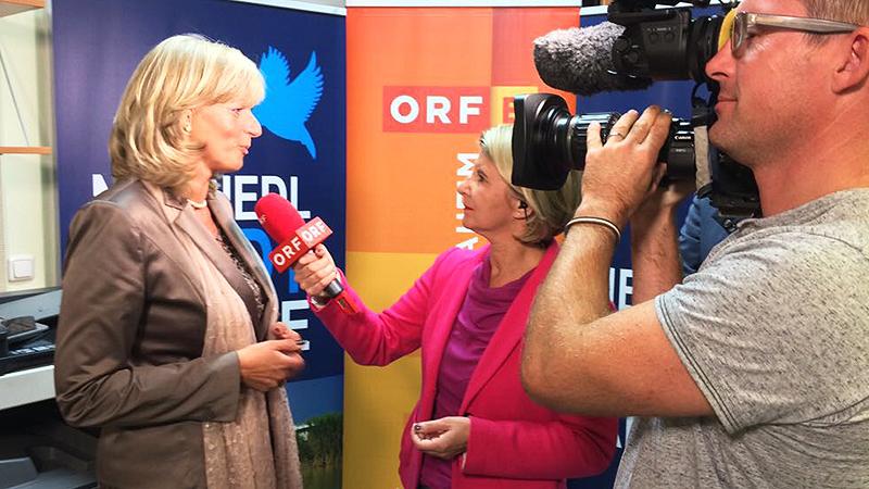 Reporterin Patricia Spieß