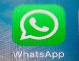 Icon von WhatsApp auf Handydisplay