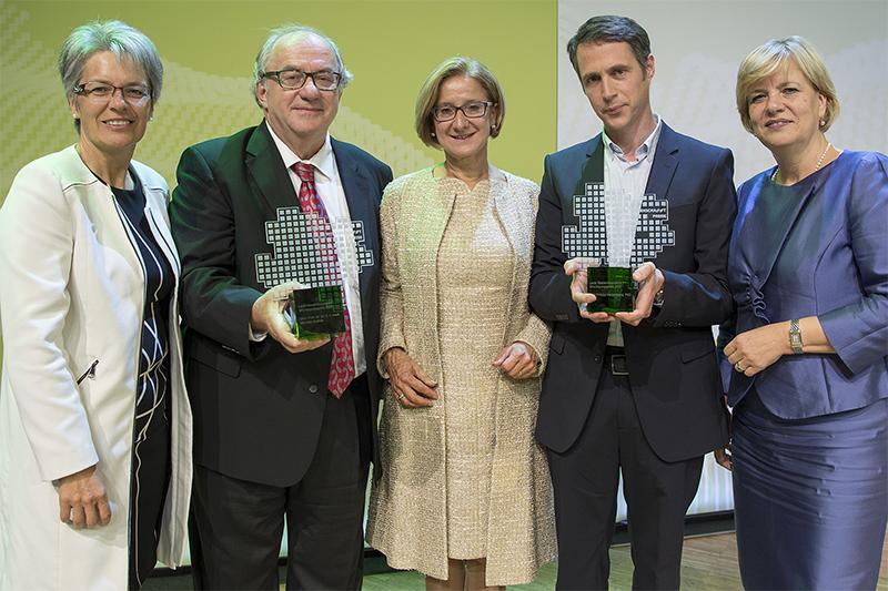 Wissenschaftspreise 2017 Mikl Leitner Brainin Heisenberg Bohuslav Schwarz