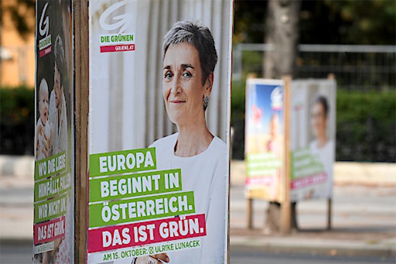 Nationalratswahl 2017 Plakat Grüne