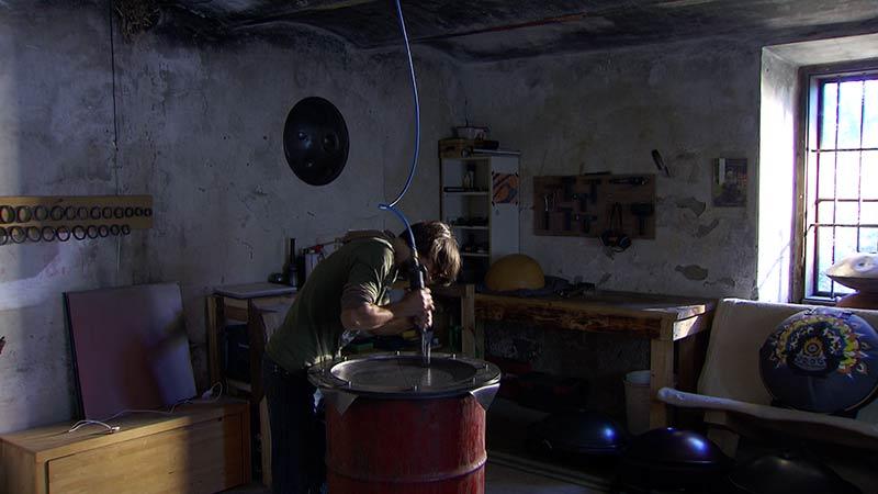 Handpan Steeldrum Instrumente