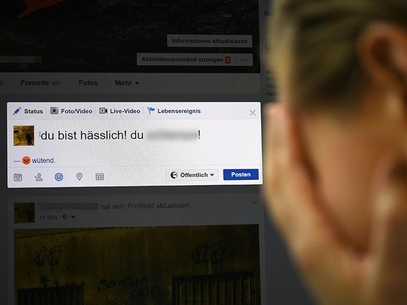 Mobbing Cybermobbing Hetze Hass Netz