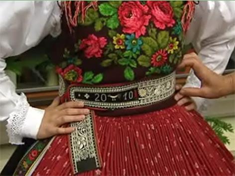 Koroška narodne noše Unescov seznam dediščine Zila