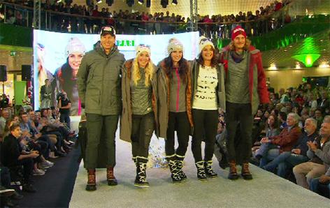ÖSV Präsentation der neuen Mode für die Skistars