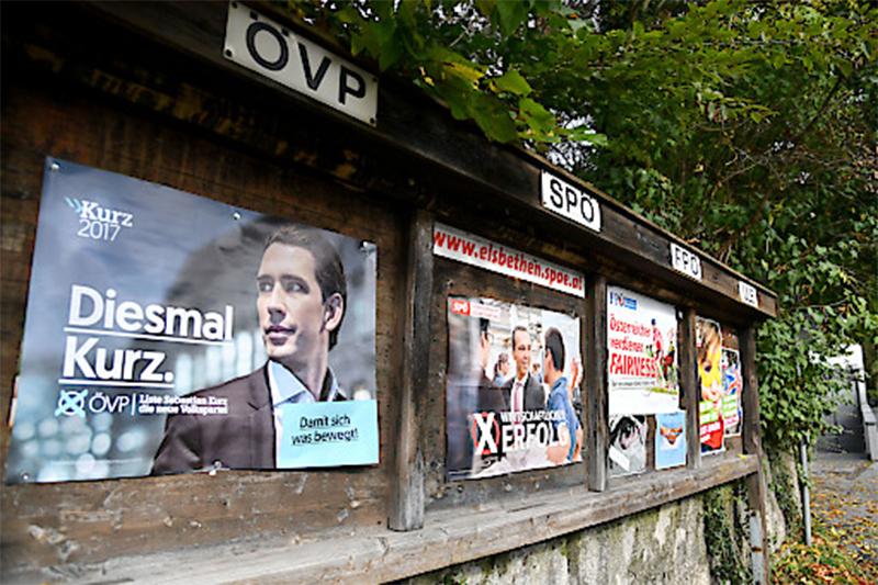Nationalratswahl Plakate