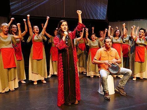 Shiva šiva Rož ženski zbor pesmi delu