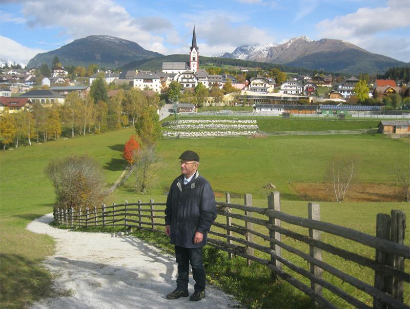 Pilgerwanderer Erich Thell