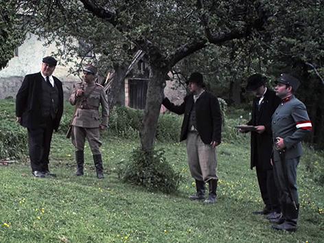 Universum History Štajerska Tertinjak Lechner scena igrana Delavec društvo Lenart
