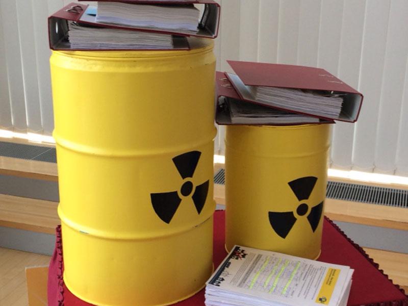 Atomkraft Unterschriften Sammlung Atommüll