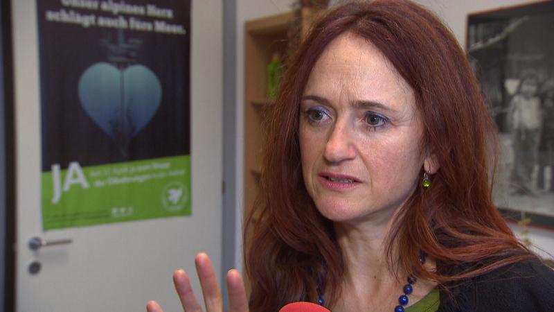 Brigitte Foppa, Sprecherin Südtiroler Grüne