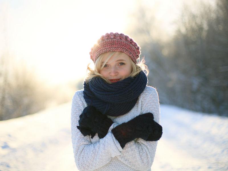 Frau Kälte Winter