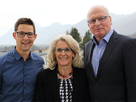 Stefan Wasmer, Roswitha Glashüttner, Rudolf Hakel