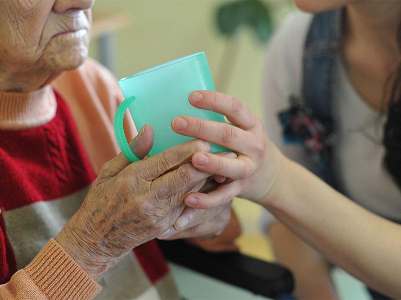 Pflege Gesundheit Hände
