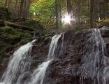 Wasserfall im Teufelsgraben bei Seeham