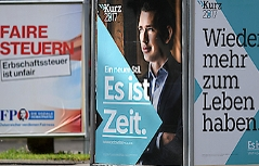 Wahlplakate ÖVP und FPÖ
