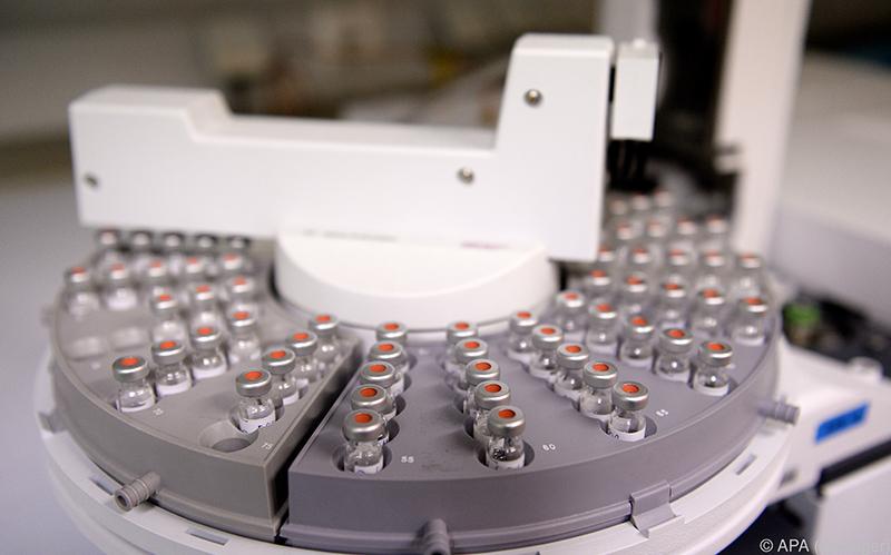Durch Massenspektrometrie können molekulare Signaturen bestimmt werden