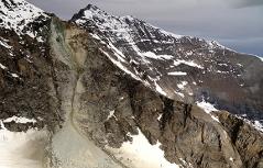 Bergsturz Wiesbachhorn Felssturz Glocknergruppe