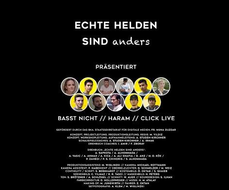 """""""Echte Helden sind anders"""" - Filmprojekt gegen Extremismus"""