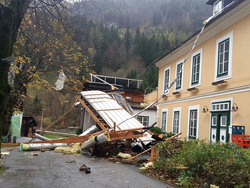 Nasswald Raxkönig Dach Sturm