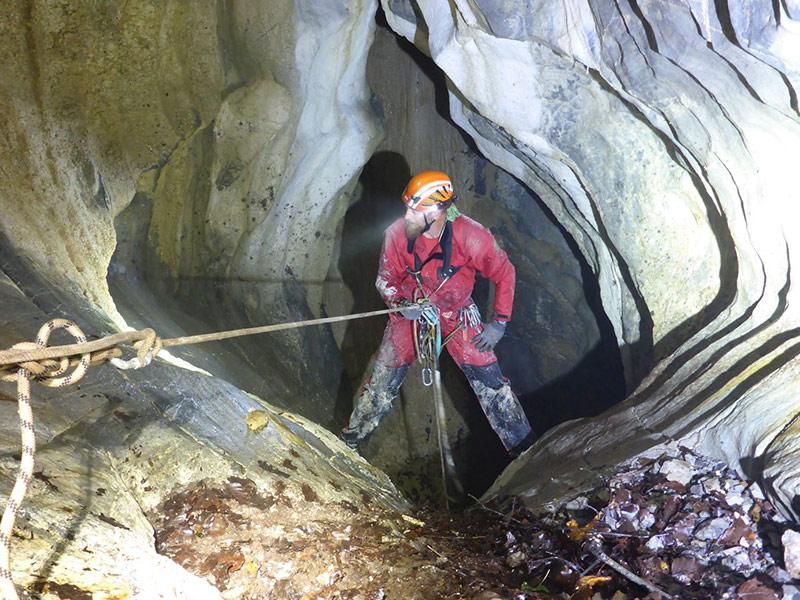 Höhlenforscher Siebenschläferschacht Greifenburg