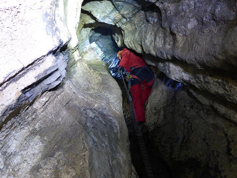 Höhlenforscher Siebenschläfer schacht Greifenburg