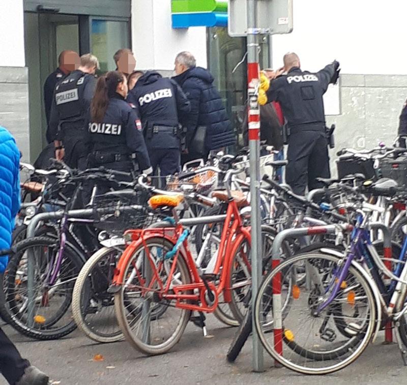 Überfall auf Juwelier Leitner in Innsbruck