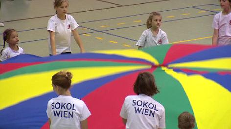 Sokol Wien Turnen Kinder