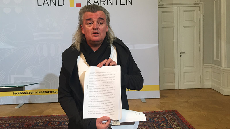 Kaiser Anwalt Meinhard Novak