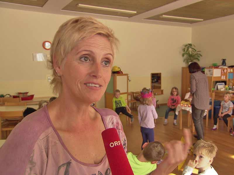 Kerzen Kindergarten