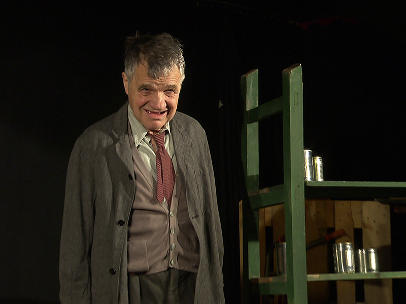 Klaus Rott als Der Herr Karl