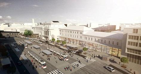 Rekonstrukce nádraží vlakové Brno