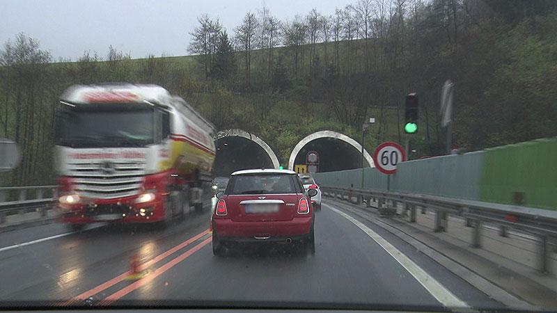 Tempolimits A2 Südautobahn Wolfsberg