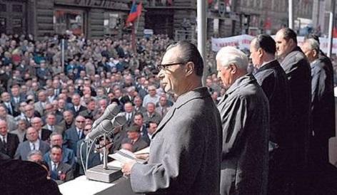Alexander Dubček, První máj 1968 v Praze