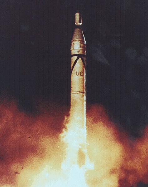 Start von Explorer 1 (Trägerrakete Jupiter-C)