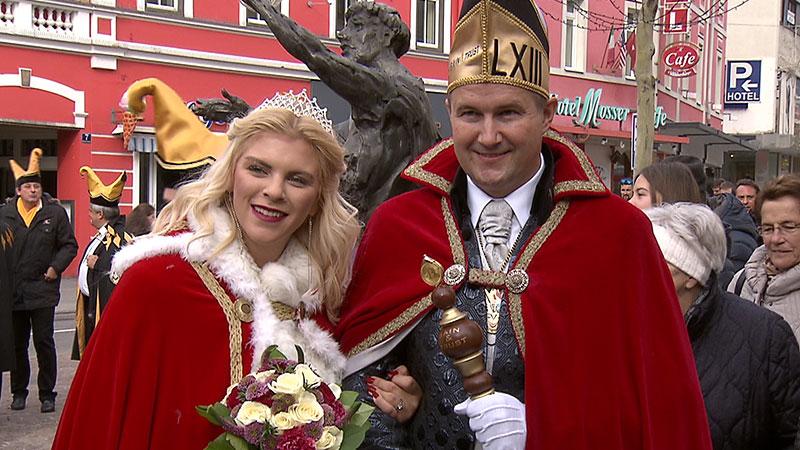 Fasching Villach Prinzenpaar 2018