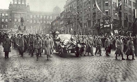 Ende des Ersten Weltkriegs, Prag