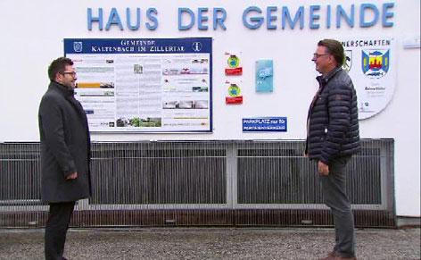 Alexander Maier und Klaus Gasteiger