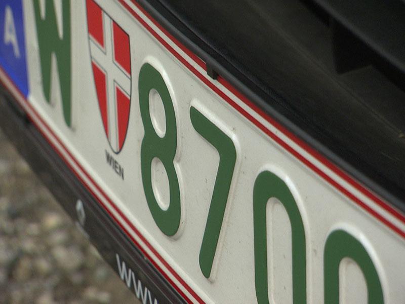 Elektroauto Grünes Kennzeichen