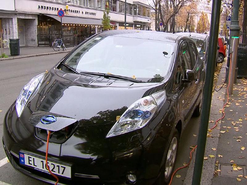 Elektroauto Norwegen