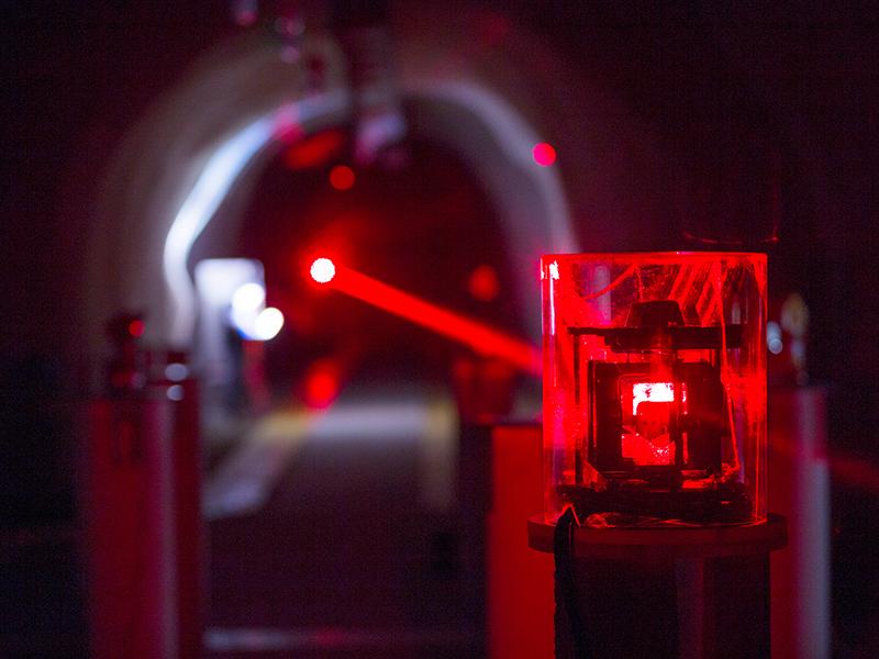 Conrad Observatorium Stollen und Messungen