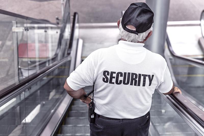 Security-Mitarbeiter