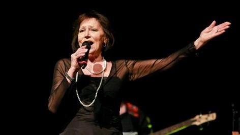 Marta Kubišová při koncertu