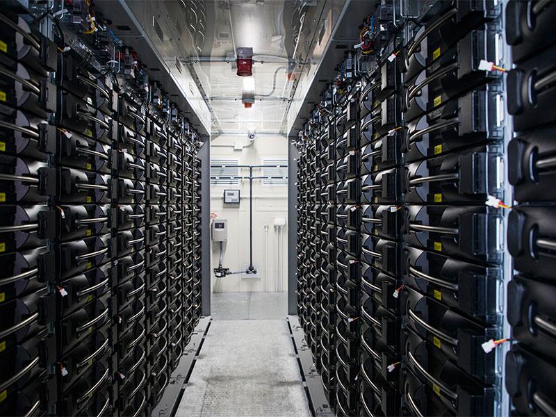 Batteriespeicher Netz NÖ Prottes