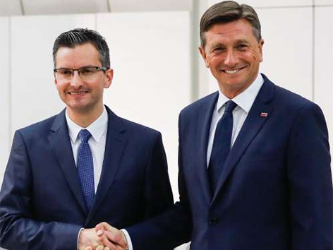 Pahor Šarec predsednik Slovenija