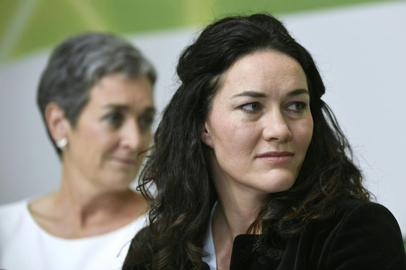 Ulrike Lunacek und Ingrid Felipe