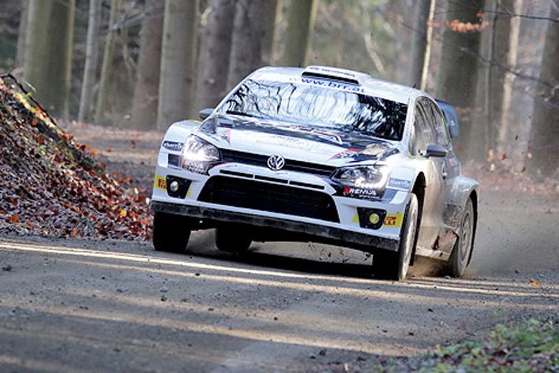 Raimund Baumschlager bei Rallye in Fulgau