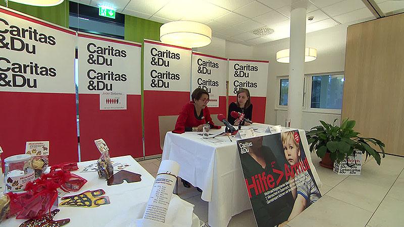 Caritas Sammlung gegen Armut