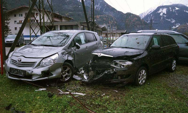 Alk-Unfall in Mayrhofen